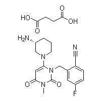 Trelagliptin succinate