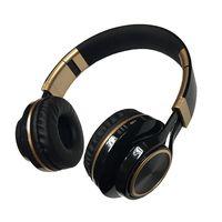Gold ring kids comfortable cute stereo metallic bluetooth headset thumbnail image