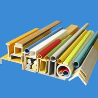 High Strength and Anti-UV FRP Fiberglass I Beam