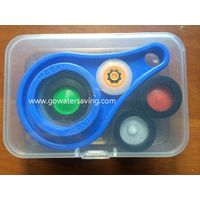 Water Saving Kits by plastic box