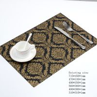 Factory supply trendy style promotional silicone table mat for wholesale