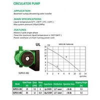CIRCULATOR PUMP SGPD15-2B2 SGPD15-4B2 thumbnail image
