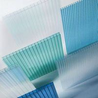 100% bayer material 10 years guarantee polycarbonate hollow sheet thumbnail image