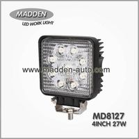 4 Inch 27W Square LED Work Light