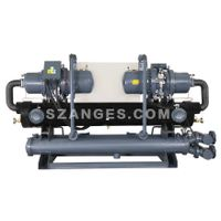 ags series screw type water chiller  AGS-050WSH