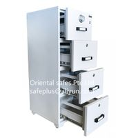Oriental safes 4-drawers fire resistant drawers cabinets