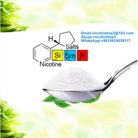 Nicotine salt concentrate for e-liquids