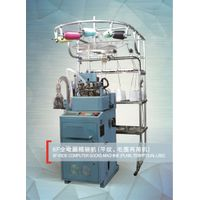 ZHONGBAO 6F Fully computerized terry sock knitting machine