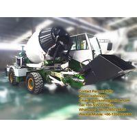 Auto Charging Concrete Mixer Truck
