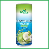 Coconut Water With Kiwi Flavor in 320ml Alu Can