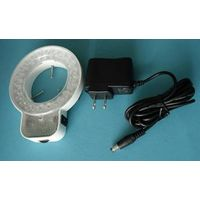 YK-S64T stereo microscope led ring illuminator optic lens