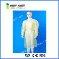 disposable non-woven surgical coat