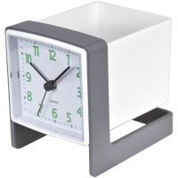 Classic Fashion Stainery Table Clock Office Clock Desk Clock for Home