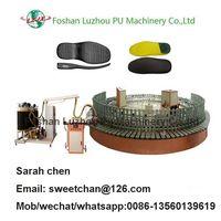 pu insole pouring machine, pu shoe production line thumbnail image