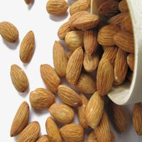 almond ,dry nuts ,badam