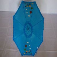 YS-0068Polyester Double Lace Kids Umbrella