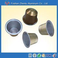 SPLR34A coffee pods foil nespresso refillable capsule