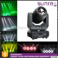 Dj Nightclub Stage 14 Channels Dmx512 Control 150W High Output Beam Spot Led Moving Head Light