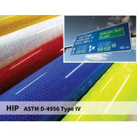 Reflective Signage Sheeting HIP 10years Sign Reflective Films