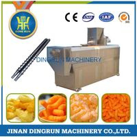 snacks food processing machine / puff snack extruder