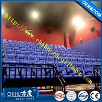 Folding fabric cinema chair theater seats made in China