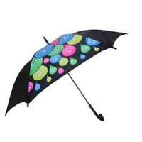 23 inches elegant customized neon print umbrella