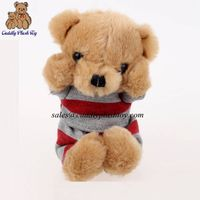 Wholesale Stuffed Teddy Bear with T-shirt China Toys