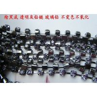 Factory direct nickel free lead-free chain, claw diamond chain, crafts decorative chain