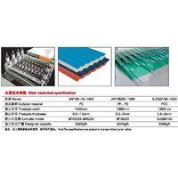 PP,PC,PVC Corrugated Sheet Extrusion Line thumbnail image
