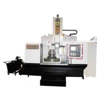 Semi-closed CNC single column vertical lathe