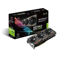 ASUS GeForce GTX 1080 8gb Rog STRIX Computer Gaming Graphics Card Boost 1835 MHz