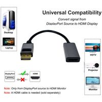 DisplayPort to HDMI Adapters 4K Male to Female thumbnail image