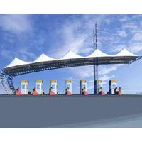 Architecture Membrane Structure for Gas station