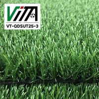 Artificial Grass 30mm Astro Garden Realistic Natural Turf Fake Lawn VT-QDSUT25-3 thumbnail image