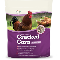 Cracked Corn for Chickens