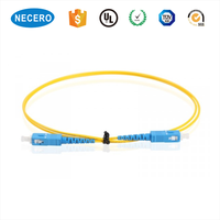 9/125 Simplex SC/UPC-SC/UPC Fiber Optic Patch Cord