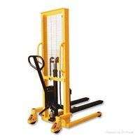 manual forklift stacker/ hydraulic lift pallet jack truck thumbnail image