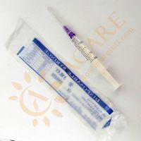 Disposable syringe without needles,