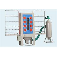 Manual glass sandblasting machine
