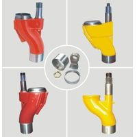 High quality Construction tractor spare parts of anti-wearing and impact resistance S valve Concrete thumbnail image