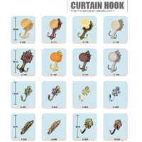 curtain tieback hook, curtain holder