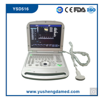 Full Digital Laptop 4D Color Doppler Ultrasound Scanner Ysd516