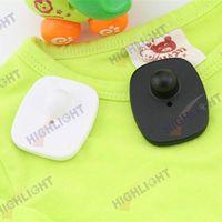 eas tag 8.2mhz mini square hard tag/ anti theft tag