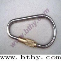 Titanium Carabiner with Copper Sheeve thumbnail image
