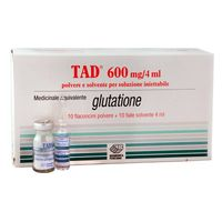 TAD Glutathione Injection Complete IV Set 600mg for Skin Lightening