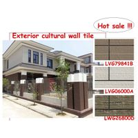 LWG49889C green homes cheap price and wall decoration western styles stone exterior cultural wall ti