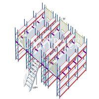 heavy duty warehouse storage mezzanine floor