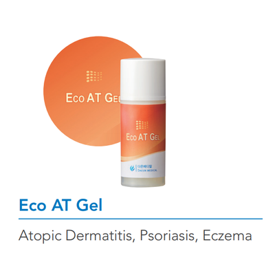 Eco AT Gel for atopic wound care or eczema