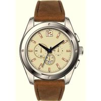 Alloy Men Watch with Japan movement and PU strap