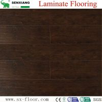 Wood Texture Deep Embossed & Handscraped Parquet Laminated Laminate Flooring